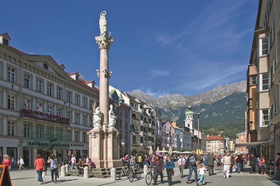 Annasäule Innsbruck (© TVB Innsbruck / Foto: Christof Lackner)